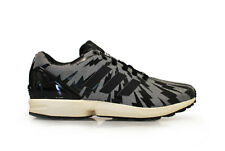 Mens Adidas ZX Flux - S78369 - Black White Trainers