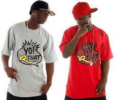 "Rocawear "" Yo! R That Shhhh "" UOMINI RAGAZZI T-shirt Time Is Hip Hop Money URBAN"