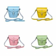 Zatchels - Borsetta in Pelle Fatta a Mano - Colori Pastello - Barrel Bag British