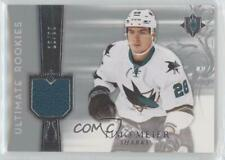 2016-17 Ultimate Collection 2006-07 Retro Rookie Jersey #RRJ-ME Timo Meier Card