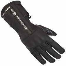 New Spada Motorcycle Bike Ladies Finesse Leather Riding Gloves Black Size S-L