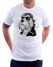 t-shirt humor dog motorcyclist - To give happiness by tshirteria d21