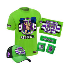 "WWE John Cena ""Cenation Respect"" Kinder T-Shirt Package *NEU* Youth Cap Towel"