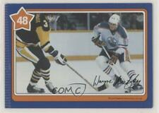 1982-83 Neilson Cookie Bar #48 Wayne Gretzky Edmonton Oilers Hockey Card