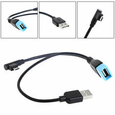 Micro USB 5 Pin Male To USB 2.0 Female Host OTG Y-Splitter Power Adapter Cable