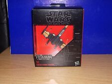 Star Wars Black(Titanium) Series Die cast ships -BNIB