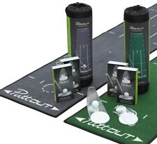 PuttOUT Putting Mat Practice Putter Trainer 2018 Indoor Aid Putt Out Mat & Cup
