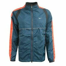 Nike Scotchlite Zip Up Blue Orange Womens Jacket 210691 499 M1