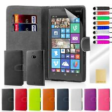 32nd Book Series – Synthetic PU Leather Flip Wallet Case Cover - Nokia Lumia 925