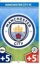 MANCHESTER CITY - MATCH ATTAX CHAMPIONS 2017-18