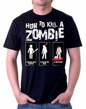 t-shirt how to kill zombies humor - To give happiness by tshirteria d67