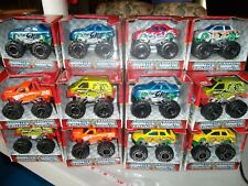 "Turbo Wheels Monster Trucks Die Cast Metal 3"" CHOOSE A LOT Available Ages 3+"