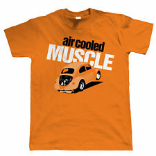 Air Cooled Muscle Vee Dub T Shirt - VDub Drag Racing Resto Cal - Gift For Dad