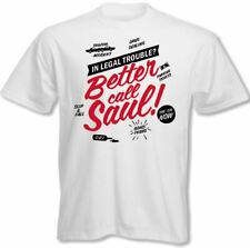Better Call Saul - Breaking Bad Tv Spin Off UOMO T-SHIRT DIVERTENTI Heisenberg