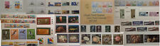 Malta 1974 1975 1976 1977 MNH Sets  Commemorative Definitive Stamps