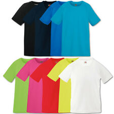 Fruit of the Loom Shirts Kids Performance T-Shirts Kinder Sport T Gr. 104 - 164