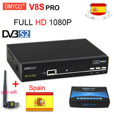 DMYCO V8SPRO Satellite TV Receiver DVB-S2 FTA HD 1080P Support YouTube WebTV Ipt