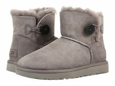 UGG Mini Bailey Button II Grey 1016422W/GRY Women's Boot