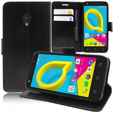 Portfolio Di Custodia Cover Guscio Supporto Video Falda per Alcatel U5 5.0""
