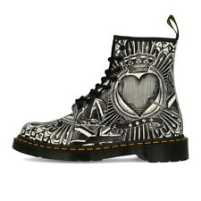 Dr. Martens 1460 Backhand Egret 8 Eye Boot Playing Card Stiefel Boots Schwarz