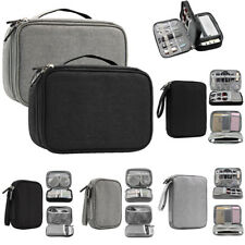 USB Data Cable Earphone Kit Organizer Electronic Accessories Travel Storage Bag