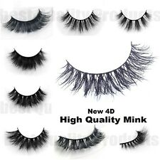 4D REAL MINK LASHES Best as CELEBRITY KIM KYLIE UNICORN HUDA LILLY DUPE Lashes