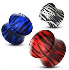 Tigre Double Flared Plug Tunnel Piercing 6,5mm -12mm NEUF - de coolbody