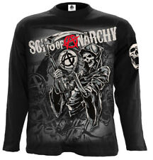 SPIRAL DIRECT REAPER MONTAGE Long sleeve T-Shirt/Sons of Anarchy/Crew Samcro/Top