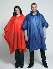 Staydry Deluxe PVC Impermeable Reusable Poncho para Lluvia - Alto Calidad Para