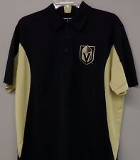 NHL Vegas Golden Knights Embroidered Mens Polo XS-6XL, LT-4XLT New
