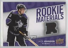 2007-08 Upper Deck Rookie Materials #RM-JJ Jack Johnson Los Angeles Kings Card