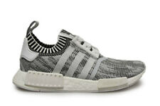 HOMMES ADIDAS NMD_R1 PK - by1911 - Blanc Gris Baskets noires