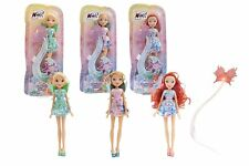 WINX Magical Shine BLOOM STELLA FLORA con Ciocca Per Capelli LIGHT UP NUOVO