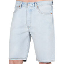 Levis 501 Hemmed Short Looking Pasty Herren Denim Jeans Shorts Blau