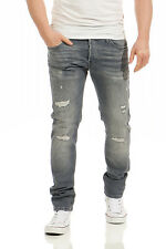 Pantalon Jack & JONES jeans modèle Glenn 052 Jeans slim fit destroy