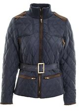 Women's Out-Doors Country Riding Jacket Ladies Equestrian Short Parka coat.