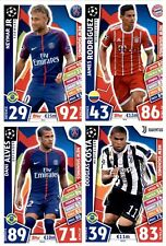 NEW SIGNINGS - LIMITED EDITION - MATCH ATTAX CHAMPIONS 2017-18