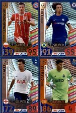 GOLD - SILVER - BRONZE - LIMITED EDITION - MATCH ATTAX CHAMPIONS 2017-18