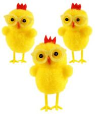 Yellow Easter Chicks with Glasses Easter Party Fancy Party Decoration Accessory