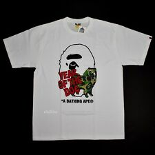 NWT A Bathing Ape BAPE x DSM Mens Year of the Dog Logo T-Shirt SS18 DS AUTHENTIC