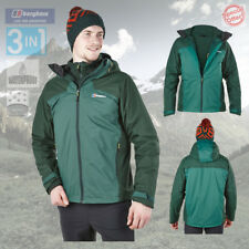 Berghaus Uomo Fastrack 3 in 1 TRICLIMATE GIACCA IMPERMEABILE - NUOVO