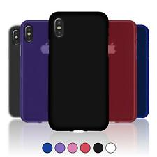 Custodia Apple iPhone X stuoia  Cover iPhone X in silicone Case