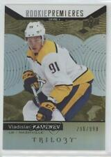 2017-18 Upper Deck Trilogy 60 Rookie Premieres Level 1 Vladislav Kamenev RC Card