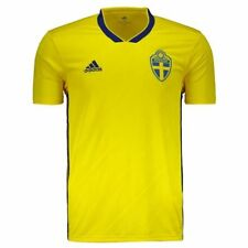 Adidas Sweden Home 2018 Jersey - FutFanatics- New Original