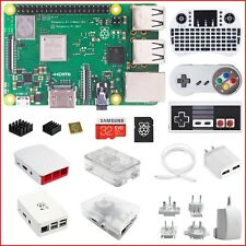 Berryku Raspberry Pi 3 B+ (B Plus) DIY Kit - White KODI RetroPie Minecraft