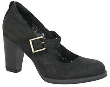Timberland Earthkeepers Stratham ALTURAS Correa Up Zapatos Mujer Negro 8558r U76