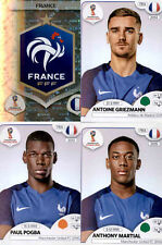 FRANCE - PANINI WORLD CUP RUSSIA 2018 - (192-211)