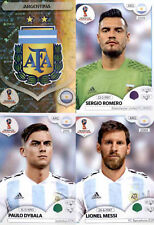 ARGENTINA - PANINI WORLD CUP RUSSIA 2018 - (272-291)