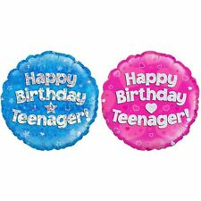 Oaktree - Palloncino scritta Happy Birthday Teenager (SG7644)