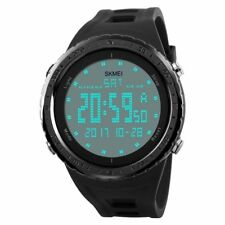 New Waterproof Military SKMEI Watch Sport Quartz Wrist Men Analog Digital Rubber